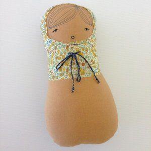 H Luv Cotton Matryoshka Girl Doll Baby Shower Gift